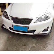 For Lexus IS250 IS350 Sedan 07-13 Carbon Fiber Front Bumper Splitter Cupwing Winglets Vent Flaps