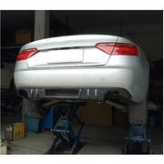 For Audi A5 B8.5 Base 2-Door 12-16 Carbon Fiber Rear Bumper Diffuser Body Kit