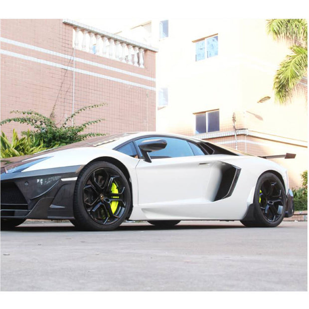For Lamborghini Aventador LP700-4 11-16 Carbon Fiber Side Skirts Door Rocker Panels Extension Lip