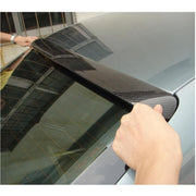 For Audi A4 B8 Base Sedan Pre-facelift 09-12 Carbon Fiber Rear Roof Spoiler Window Wing Lip