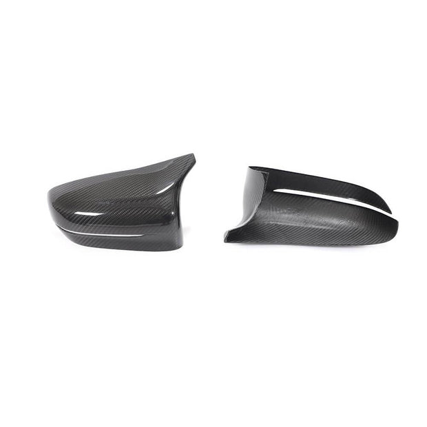 For BMW 5 Series F90 M5 Sedan 18-20 Carbon Fiber Side Rearview Mirror Cover Caps Pair RHD