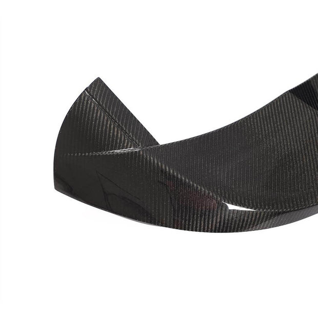 For Mercedes Benz W176 Hatchback 13-18 Carbon Fiber Rear Roof Spoiler Window Wing Lip