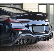 For BMW 8 Series G16 F93 M8 Gran Coupe 18-21 Dry Carbon Fiber Rear Trunk Spoiler Boot Wing Lip