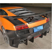 For Lamborghini Gallardo 09-14 Carbon Fiber Rear Bumper Body Kit