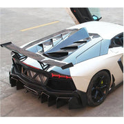 For Lamborghini Aventador LP700-4 11-16 Carbon Fiber Car Racing Rear Roof Cover Body Kits 15Pcs