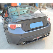 For Subaru BRZ Toyota GT86 FT86 Scion FR-S Carbon Fiber Rear Bumper Diffuser Body Kit