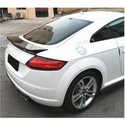 For Audi TT  Mk3 8S Base 2-Door 15-19 Carbon Fiber Rear Trunk Spoiler Boot Wing Lip