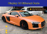 For Audi R8 2016-2019 Auto Carbon Fiber Package Wide Body Kit