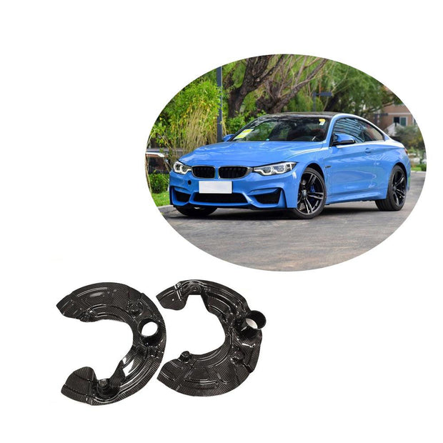 For BMW F80 F82 F83 M3 M4 Carbon Fiber Ventilation Heat Dissipation Plate Of Brake Disc