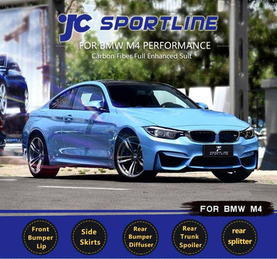 For BMW F82 M4 Coupe 2014-2019 Auto Carbon Fiber Package Wide Body Kit