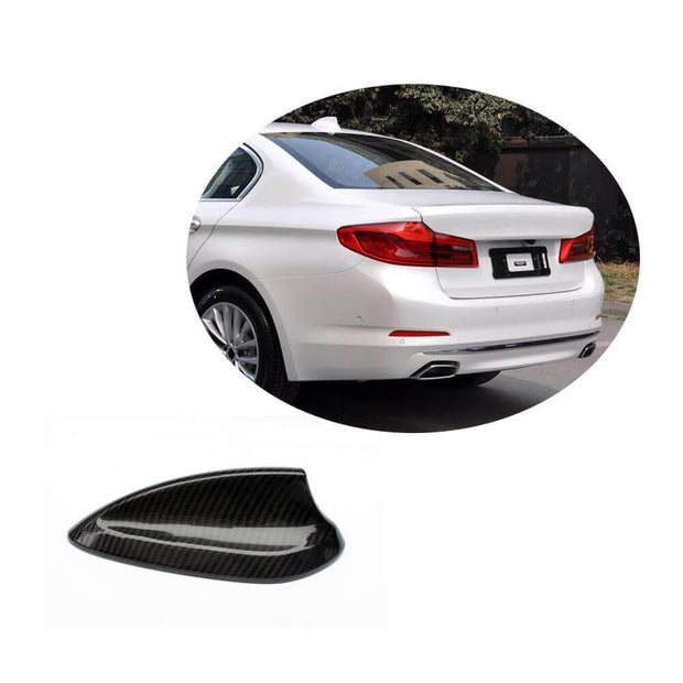 For BMW 5 Series G30 G31 F90 M5 17-20 Carbon Fiber Car Antenna Cover Shark Fin Roof Decoration