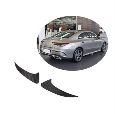 For Mercedes Benz W118 C118 Sedan 2020UP Carbon Fiber Rear Bumper Fins Air Vent Canards Body Kits