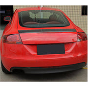 For Audi TT TTS Sline Mk2 8J 2-Door Pre-facelift 08-14 Carbon Fiber Rear Trunk Spoiler Boot Wing Lip