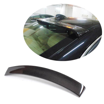 For BMW 3 Series E90 M3 Sedan 05-12 Carbon Fiber Rear Roof Spoiler Window Wing Lip