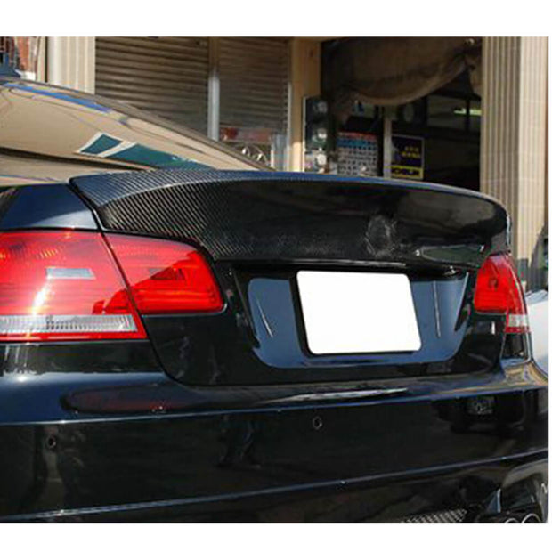 For BMW 3 Series E90 M3 Sedan 05-08 Carbon Fiber Rear Trunk Spoiler Boot Wing Lip