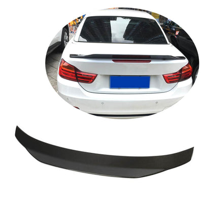 For BMW 4 Series F36 Gran Coupe 14-19 Carbon Fiber Rear Trunk Spoiler Boot Wing Lip