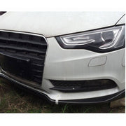For Audi A5 B8.5 Base 2-Door 4-Door 12-16 Carbon Fiber Front Bumper Lip Chin Spoiler Body Kit