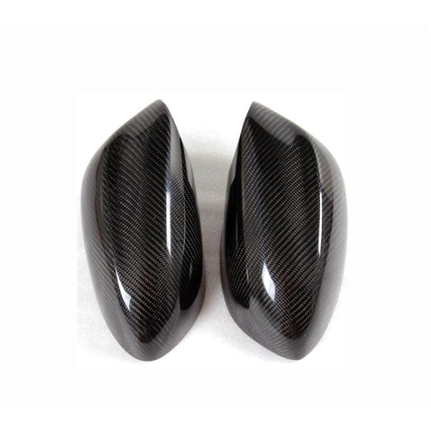 For BMW Z4 E89 2-Door 09-13 Carbon Fiber Side Rearview Mirror Cover Caps Pair