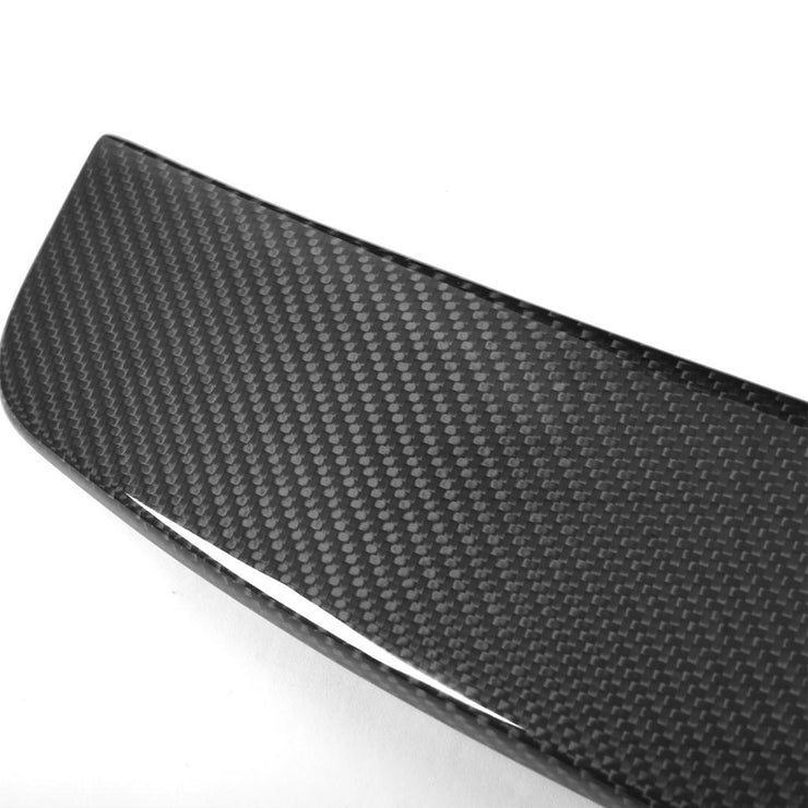 For Mercedes Benz W205 C205 Coupe 15-19 Carbon Fiber Rear Roof Spoiler Window Wing Lip