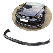 For Volkswagen VW Golf 7 MK7 R R-line Hatchback 14-16 Carbon Fiber Front Bumper Lip Chin Spoiler