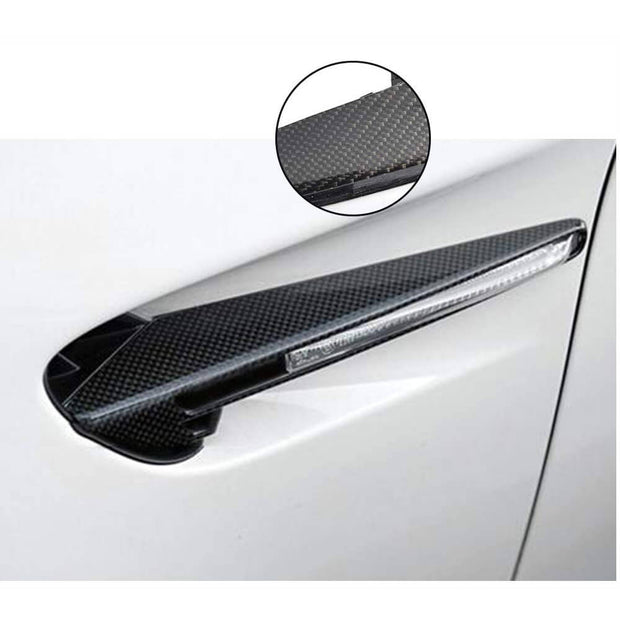 For BMW 3 Series E92 E93 M3 2-Door 08-13 Carbon Fiber Turn Signal Cover Trims