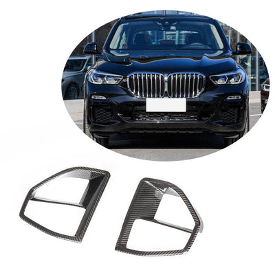 For BMW X5 G05 M Sport SUV 2019UP Carbon Fiber Front Bumper Air Fender Vent