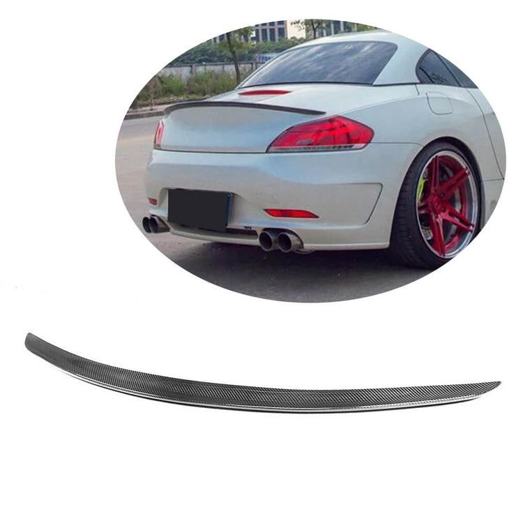 For BMW Z4 E89 2-Door 09-15 Carbon Fiber Rear Trunk Spoiler Boot Wing Lip