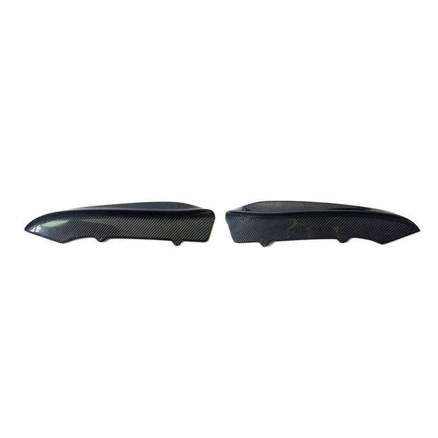 For BMW 3 Series E92 E93 M3 2-Door 08-13 Carbon Fiber Rear Bumper Splitter Cupwing Winglets Vent Flaps