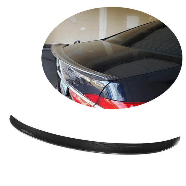 For BMW 7 Series G11 Sedan 16-20 Carbon Fiber Rear Trunk Spoiler Boot Wing Lip