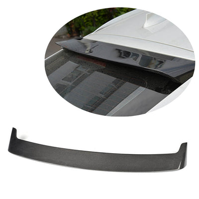 For BMW X6 F16 Sport Utility 15-19 Carbon Fiber Rear Roof Spoiler Window Wing Lip