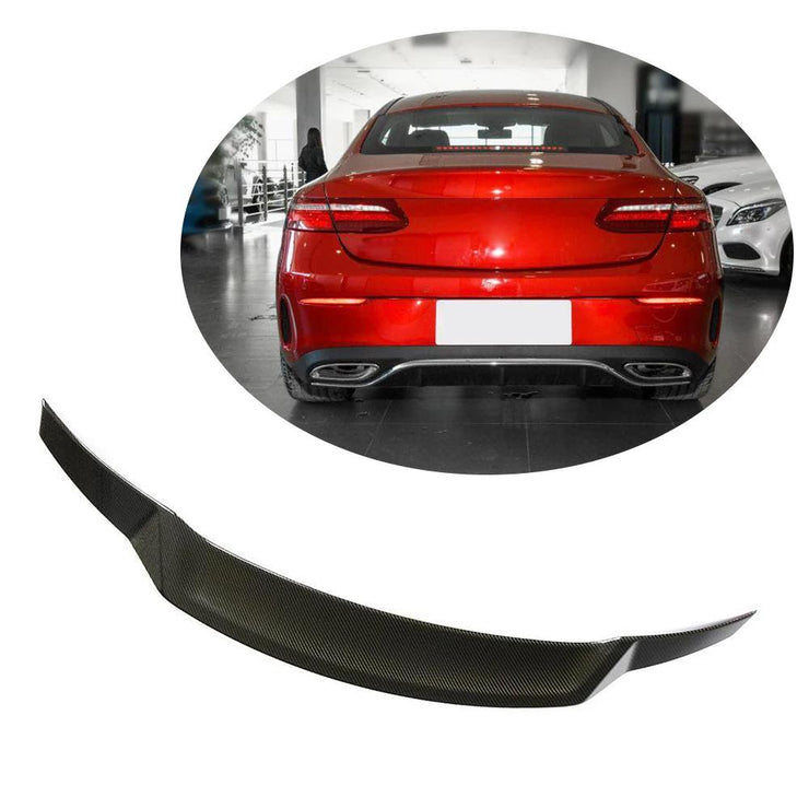 For Mercedes Benz C238 Coupe 17-19 Carbon Fiber Rear Trunk Spoiler Boot Wing Lip