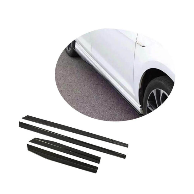 For Volkswagen VW Golf 7 7.5 MK7 MK7.5 Standard GTI R R-line Hatchback 14-20 Carbon Fiber Side Skirts Trims