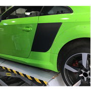 For Audi TT TTS TTRS MK3 8S 2-Door 15-18 Carbon Fiber Side Blades Fender Vent Cover