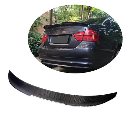 For BMW 3 Series E90 M3 Sedan 05-12 Carbon Fiber Rear Trunk Spoiler Boot Wing Lip