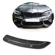 For BMW 2 Series F87 M2 Coupe 16-20 Carbon Fiber Front Bumper Lip Chin Spoiler Body Kit