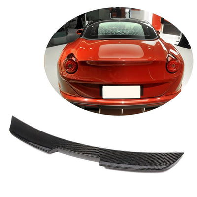 For Ferrari California T Base Convertible 15-18 Carbon Fiber Rear Trunk Spoiler Boot Wing Lip
