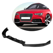 For Audi RS5 2-Door 12-16 Carbon Fiber Front Bumper Lip Chin Spoiler Body Kit