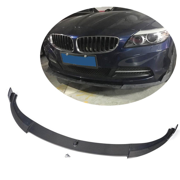For BMW Z4 E89 2-Door Pre-facelift 09-13 Carbon Fiber Front Bumper Lip Chin Spoiler Body Kit