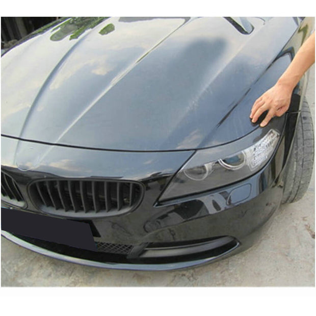 For BMW Z4 E89 2-Door Pre-facelift 09-13 Carbon Fiber Headlight Eyebrows Lamp Eyelids
