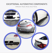 For Infiniti G37 Sedan 09-13 Auto Carbon Fiber Package Wide Body Kit