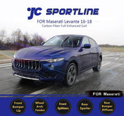 For Maserati Levante Sport Utility 16-19 Auto Carbon Fiber Package Wide Body Kit