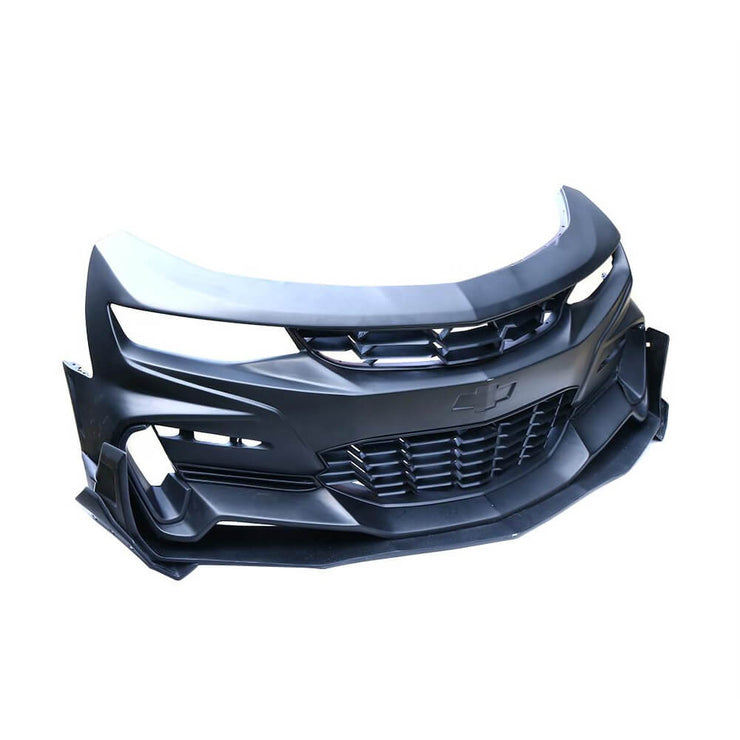 For Chevrolet Camaro RS SS LS LT 2-Door 16-19 Front Bumper with Front Canards Body Kits