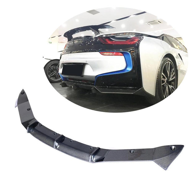 For BMW I8 Coupe 14-18 Carbon Fiber Rear Bumper Diffuser Body Kit