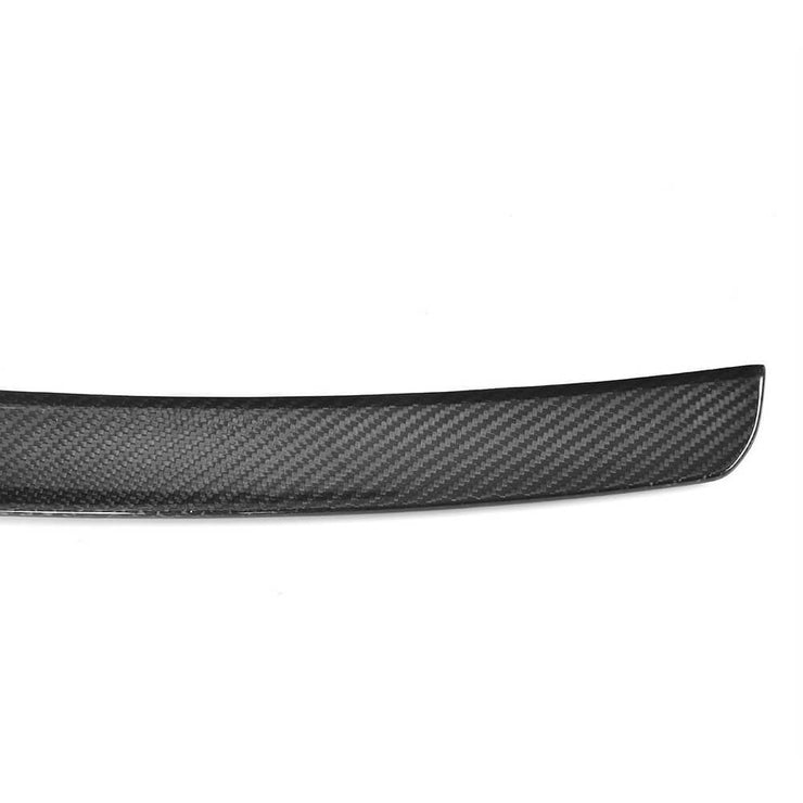 For BMW X5 F15 Sport Utility 14-18 Carbon Fiber Rear Roof Spoiler Window Wing Lip
