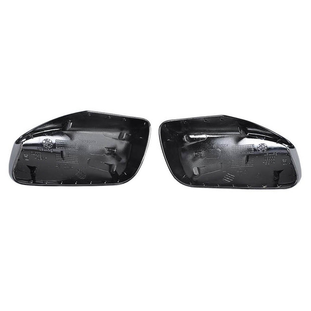For BMW 5 Series E60 Sedan 04-10 Carbon Fiber Side Rearview Mirror Cover Caps Pair