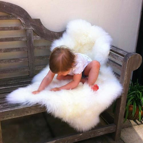 BOWRON SHEEPSKIN RUG (GoldStar) - SINGLE