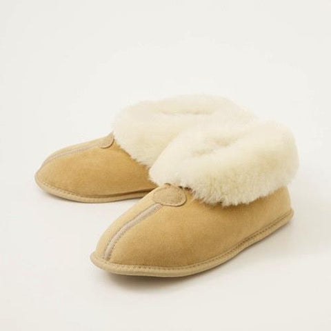 SHEEPSKIN COLLAR Slippers