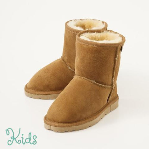 KIDS OXFORD Sheepskin Boots