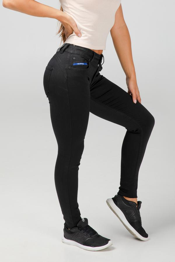 BODY FIT WOMEN'S JEANS - PURE BLACK