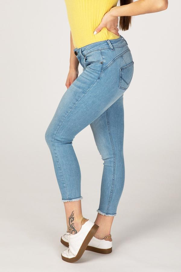 BODY FIT ANKLE FREE WOMEN'S JEANS - SUMMER BREEZE